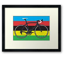 Bike World Champion (Big - Highlight) Framed Print