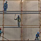 On the scaffold by awefaul