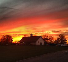Evening Sunset at SWCHS by ConfidentClown