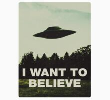 I Want to Believe by norawr
