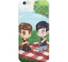 Dan and Phil Picnic  iPhone Case/Skin