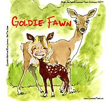 Goldie Fawn Photographic Print