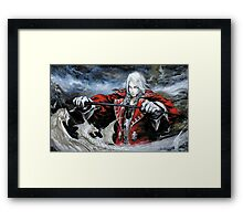Castlevania - Alucard Framed Print