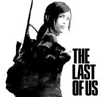Ellie in the last of us Photographic Print