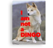 Tom Wheeler is a Dingo Canvas Print