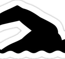 Swimming swimmer Sticker
