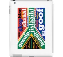 South African slang and colloquialisms  iPad Case/Skin