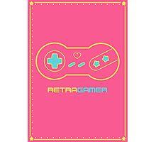 Retra Gamer - Model 101 Photographic Print