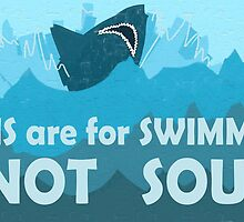 Fins are for Swimming, Not Soup by LadyElizabeth