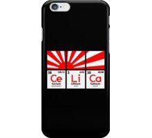 Cerium Lithium Calcium rising sun (2) iPhone Case/Skin