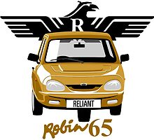 Reliant Robin 65 by car2oonz