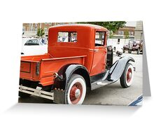 Classic Car Show Greeting Card
