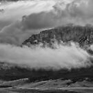 Low Storm Clouds At The Mountain by Thomas Young