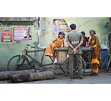Early Evening Chit Chat  Photographic Print