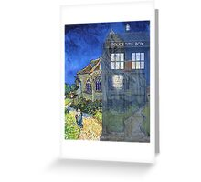 Dr., Van Gogh and the Church at Auvers Greeting Card