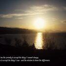 Midnight Sun (Serenity Prayer) by JoAndCoCards