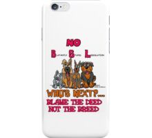 No B.S.L End Breed Specific Legislation. iPhone Case/Skin