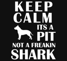 Keep Calm Pitbull T-Shirt by scheme710