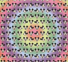 micky mouse blotter by akiraxhoshizora