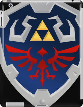 Zelda - Hylian Shield by Jaelachan