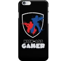 Kick Ass Gamer iPhone Case/Skin