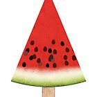 Watermelon on a Stick by marmalademoon