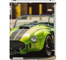Green Cobra iPad Case/Skin