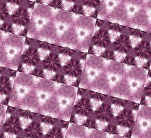 Purple Double Patterned by PatternedArt
