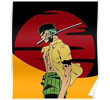 The Swordsman Of The Straw Hat Crew Poster