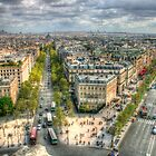 Champs-Élysées from the Arc De Triomphe by Michael Matthews