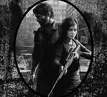 Ellie & Joel - TLOU  by Mellark90