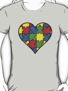 Autism Awareness Heart T-Shirt