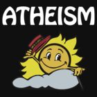 Atheism (happy sun) white version by jezkemp