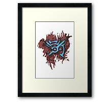 Mark Of The Outsider Framed Print