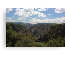 Black Canyon of the Gunnison 1 Canvas Print