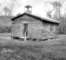 Mill Creek One Room Schoolhouse by James Brotherton