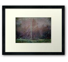 Sailing into Harbour Framed Print