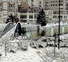 *Snow in Greenville* by DeeZ (D L Honeycutt)