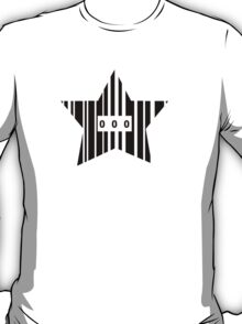 Star Shaped Barcode T-Shirt