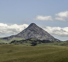 Sleeping Woman Mountain by Thomas Young