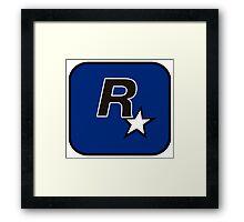 Rockstar North Logo Framed Print