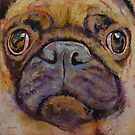 Pug by Michael Creese
