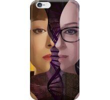 Orphan Black - Sestras  iPhone Case/Skin