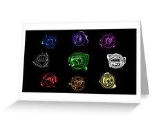 Lantern Corps Greeting Card