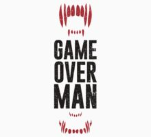 Game Over Man - Black by Dorothy Timmer