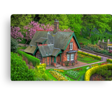 Gardener's cottage Canvas Print