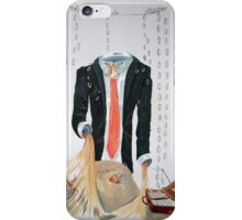The weariness iPhone Case/Skin