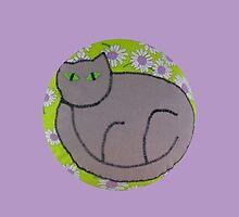 Flower Cat by rainydayart