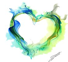 Ink Heart by philippedu06