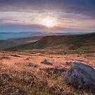 Higger Tor Sunset by Jon Bradbury